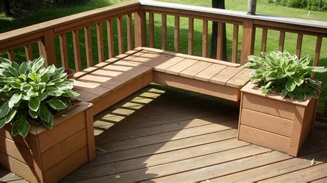 building a wooden planter for your deck decks decking