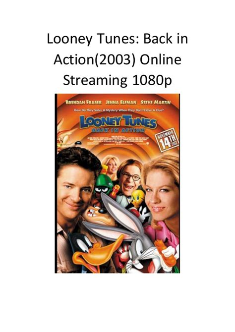 film komedi streaming looney tunes back in action 2003 online streaming 1080p