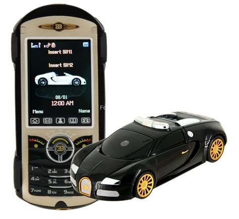 Another Bugatti Veyron shaped mobile phone shows up, and