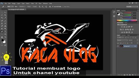 tutorial photoshop membuat logo adobe photoshop tutorial tips membuat logo channel