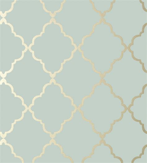 wallpaper blue trellis klein trellis metallic gold on aqua wallpaper aqua