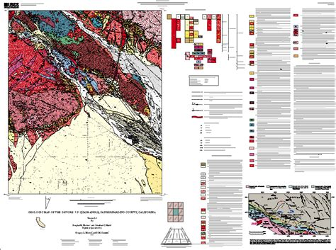 geologic map san jose quadrangle geologic map of the devore 7 5 quadrangle san bernardino