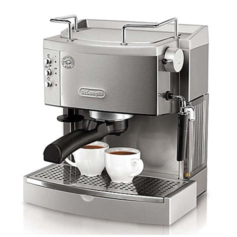 bed bath and beyond espresso de longhi pump ec702 espresso maker bed bath beyond