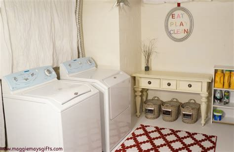 Hometalk   Basement Laundry Room Redo Before and After