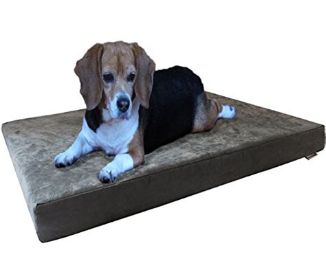 dog beds 4 less dogbed4less orthopedic gel memory foam dog bed with