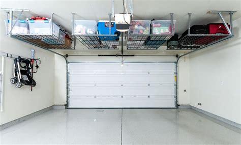 garage storage racks overhead