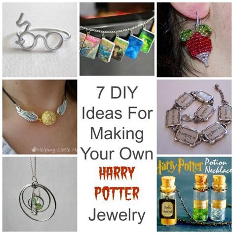 make your own jewelry ideas 7 ideas for your own harry potter jewelry