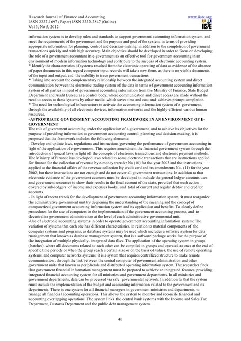 research paper on information systems research paper on accounting information system