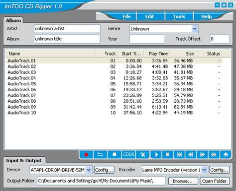 download imtoo mp3 converter free cd to mp3 converter download and reviews