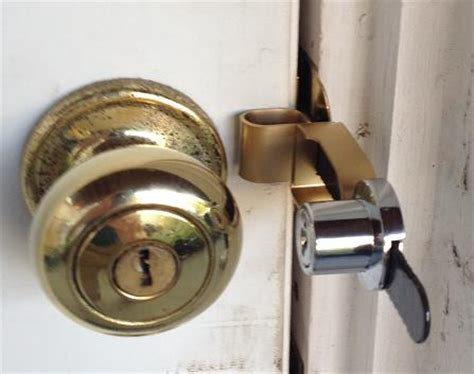 Portable Door Lock by Travel With Calslock Portable Door Lock Key Locking