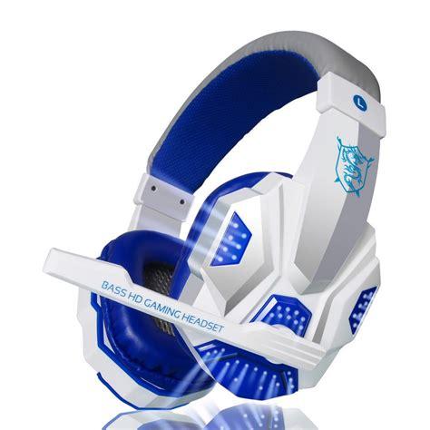 Headphone Mic Headset Earphone Laptop Komputer Gaming Havit Hv H2188d 2016 brand gaming headset ear plextone pc780 headphone earphone headband with mic usb