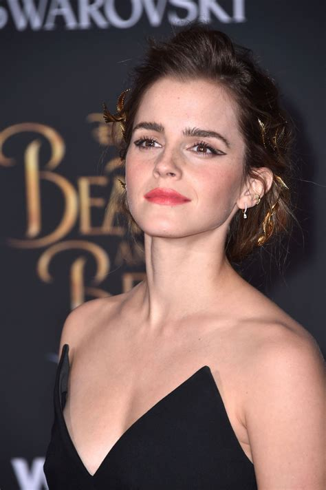 emma watson emma watson at beauty and the beast premiere in los