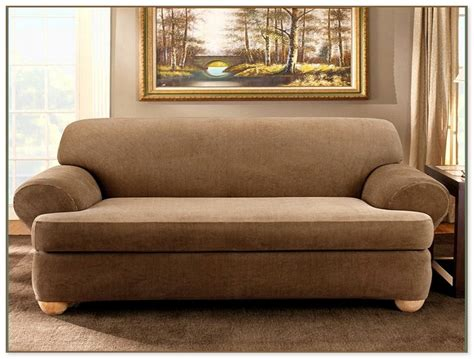 three cushion sofa slipcover 3 piece t cushion sofa slipcover home design ideas and
