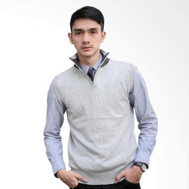 Sweater Rajut Pria Murah Sweater Murah Romeo Abu jual rompi rajut pria harga murah blibli