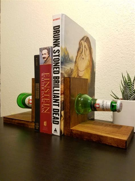Handmade Bookends - 16 handmade bookends that will spice up your