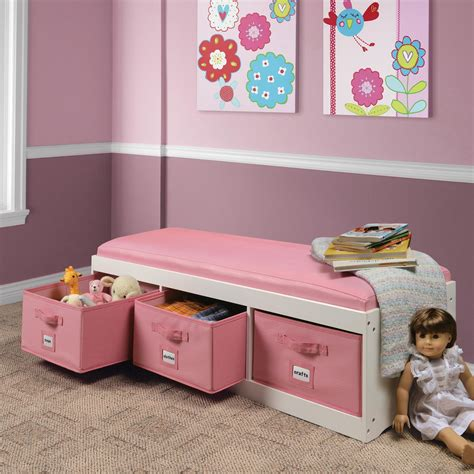 bench reading 44 best toy storage ideas that kids will love in 2018