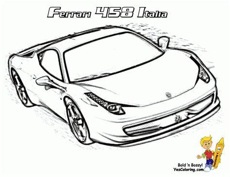 Auto Bilder Zum Ausmalen by Ausmalbilder Ferrari Kostenlos Malvorlagen Zum Auto Bilder