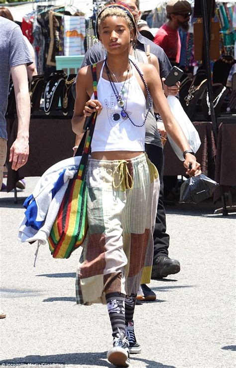 whats wearing in jamaica now willow smith wears a nose ring paired with rasta