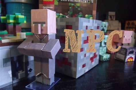 Minecraft Papercraft Villager - papercraft minecraft npc villager