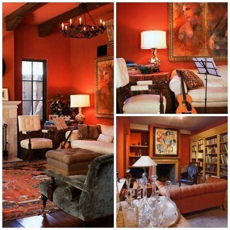rustic orange living room 17 best images about rustic orange living room on green walls green table l and