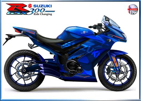 Suzuki 300cc Bike Gsxr 300 On Behance