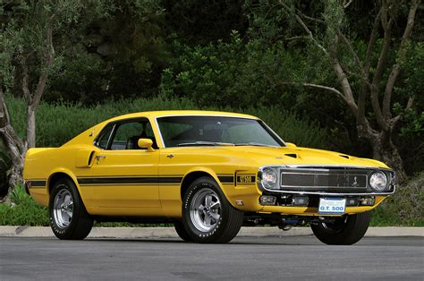 mustang 1969 shelby 1969 shelby gt500 once owned by carroll shelby going up