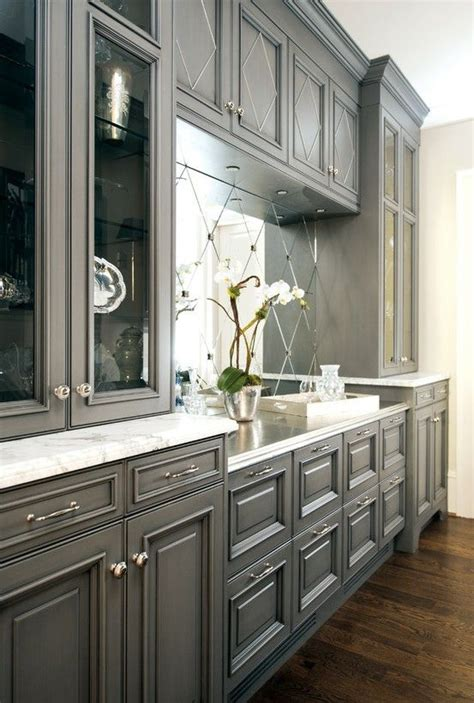 grey glazed kitchen cabinets cabinets gray with glaze home decor pinterest