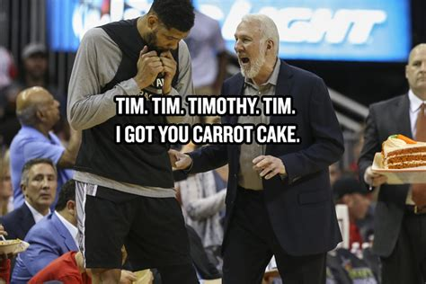 What Is Tim Doing Now by Gregg Popovich And Tim Duncan S Relationship Summed Up In