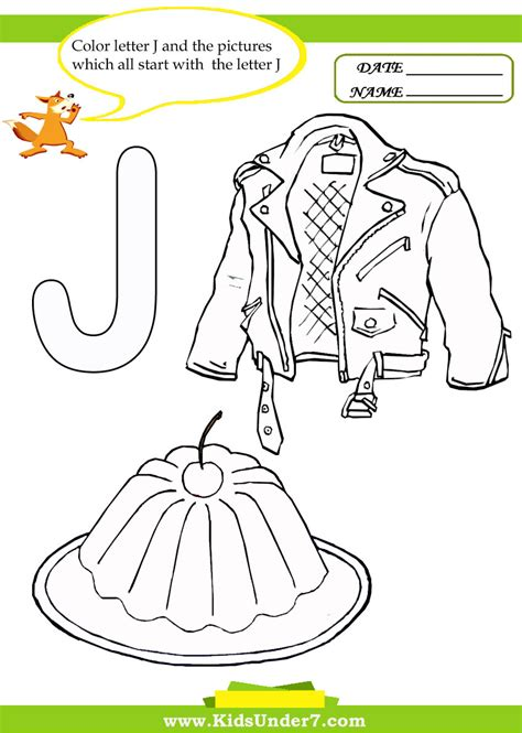 coloring pages that start with the letter j letter j worksheets for preschool www imgkid com the