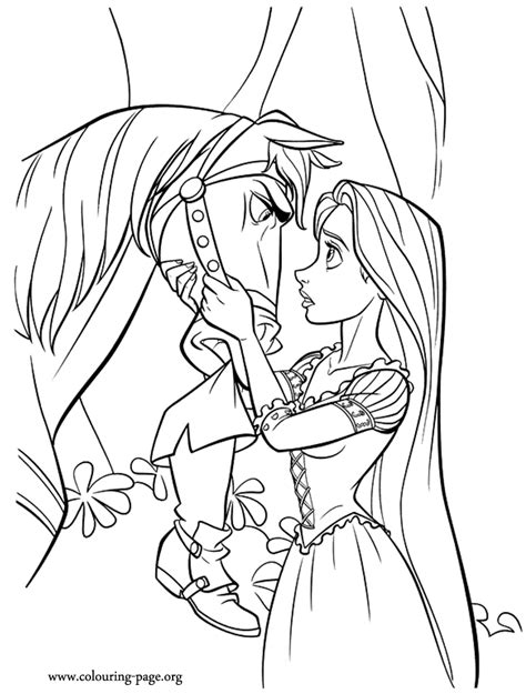 Rapunzel Coloring Pages free coloring pages of rapunzel