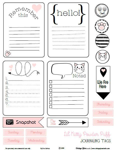 Journaling Cards Template by 25 Best Ideas About Journal Cards On Project
