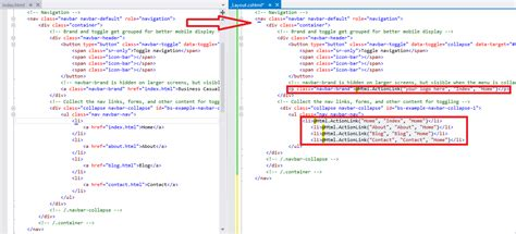 Code Section 106 by Asp Net Mvc Application With Custom Bootstrap Layout Vs