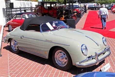 Porsche 356 A Speedster by 1956 1958 Porsche 356a 1600 Speedster Pics Information