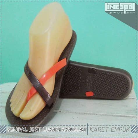 sandal cowok selop luofu f 2250 jual sandal sendal flat jepit karet tali silang luofu