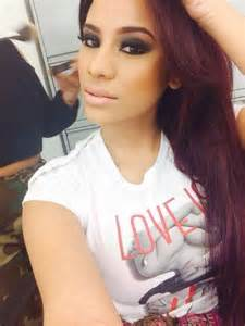 cyn pulled back hair and hip cyn santana love her pinterest her hair in love