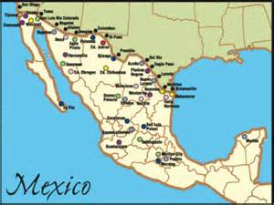 map of us and mexico border towns what is a maquila or a maquiladora mexican border