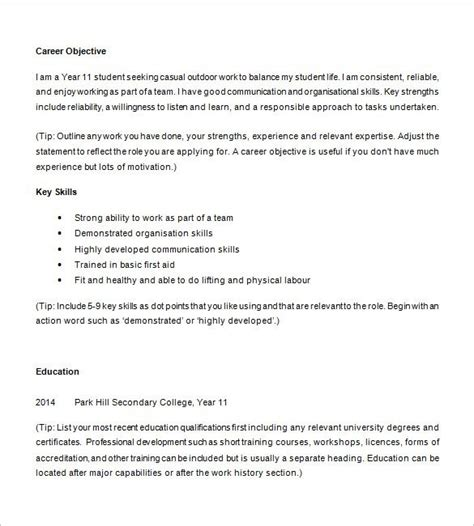 Resume After Template Resume After High School Best Resume Collection