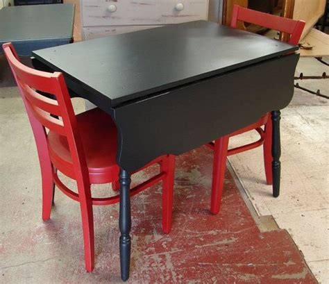 Small Trestle Black Painted Drop Leaf Kitchen Table Black Drop Leaf Kitchen Table