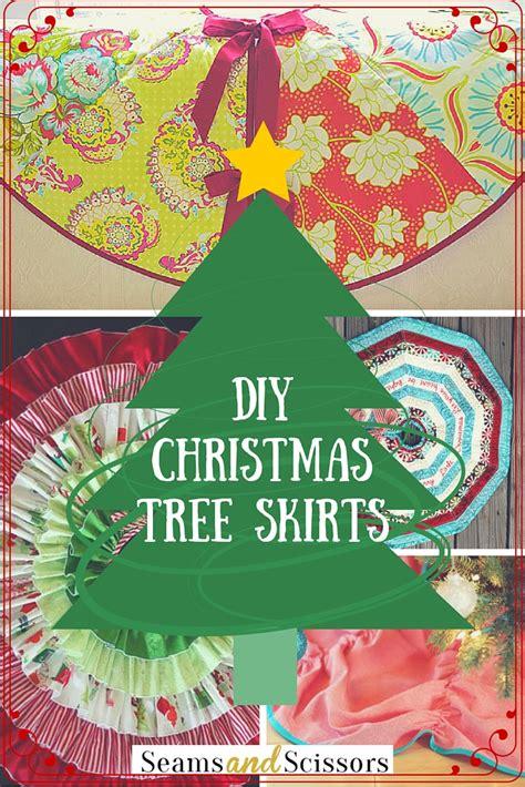 diy christmas decoration 12 christmas tree skirt patterns