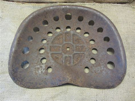 metal tractor seats vintage metal tractor seat antique iron farm equipment