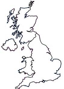 Simple Uk Outline by Outline Of Scotland Coloring Home