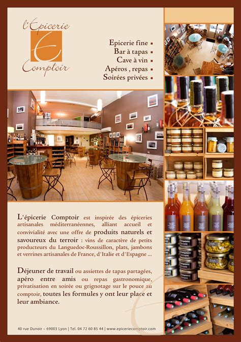 epicerie comptoir lyon restaurant le splendid lyon restaurant lyon