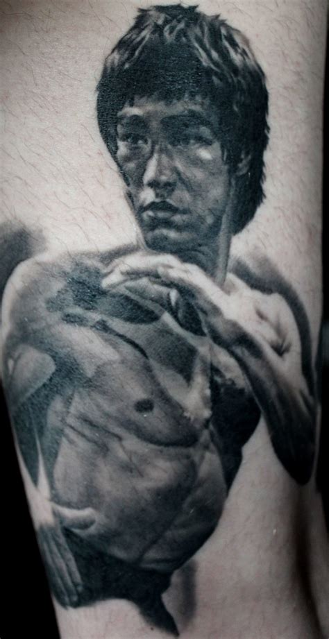 bruce lee tattoo cardinal