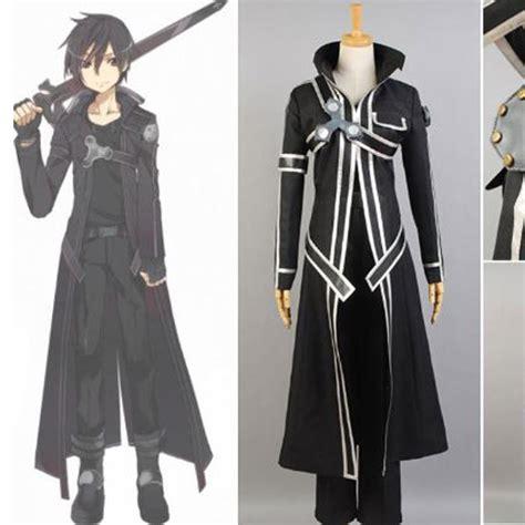 Jaket Sweater Costum Kakashi Black sword kazuto kirigaya kirito costume