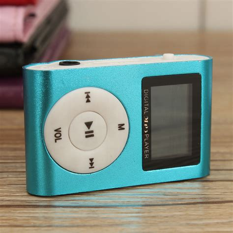 Mini Watches Mp3 Player With Micro Tf Card Slot with clip mini mp3 player lcd support 32gb micro sd tf card ebay