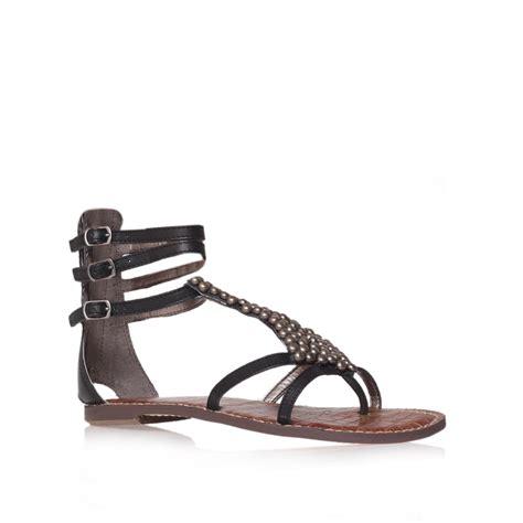 sam edelman black sandals sam edelman sandals in black lyst
