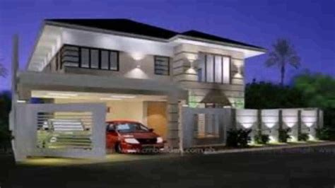 zen home design modern zen house design in the philippines youtube