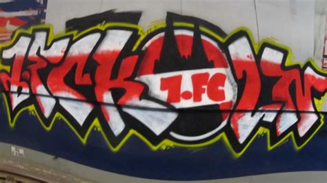 Ultras Fortuna Aufkleber by 1 Fc K 246 Ln Streetart
