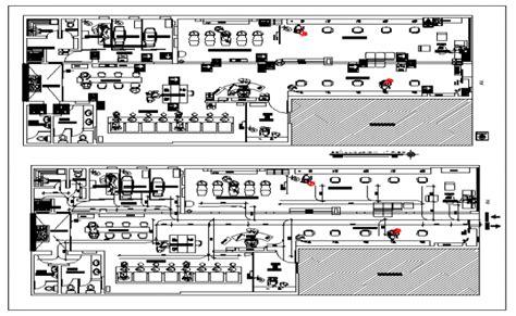 salon layout dwg floor plan of a beauty salon dwg file