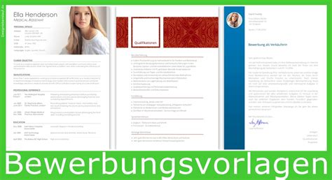 Bewerbungsprogramm Kostenlos Design Resume Builder For Word And Openoffice With Cover Letter